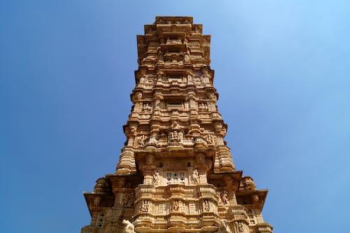 印度人, 塔, 歷史建築, 紅石頭 的 免費圖庫相片