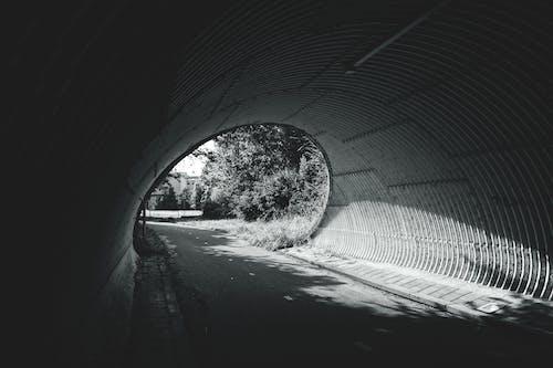 ダーク, トンネル, 光, 地下鉄のシステムの無料の写真素材