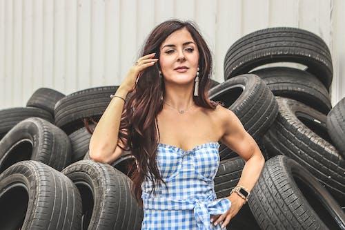 Gratis lagerfoto af brunette, dæk, fotosession, glamour