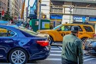 city, cars, crossing
