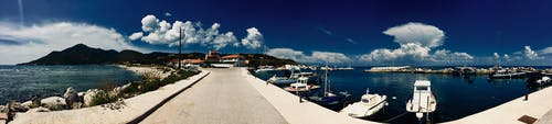 Free stock photo of greece, islands, marina, othonoi