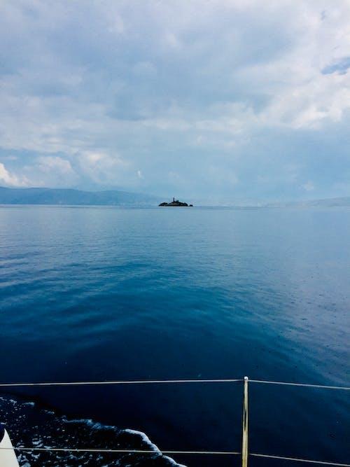 Free stock photo of greece, mediterranean sea, sailing, seal