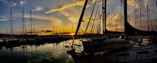 Free stock photo of Gouvia Marina, sail, sailing, sailing boats