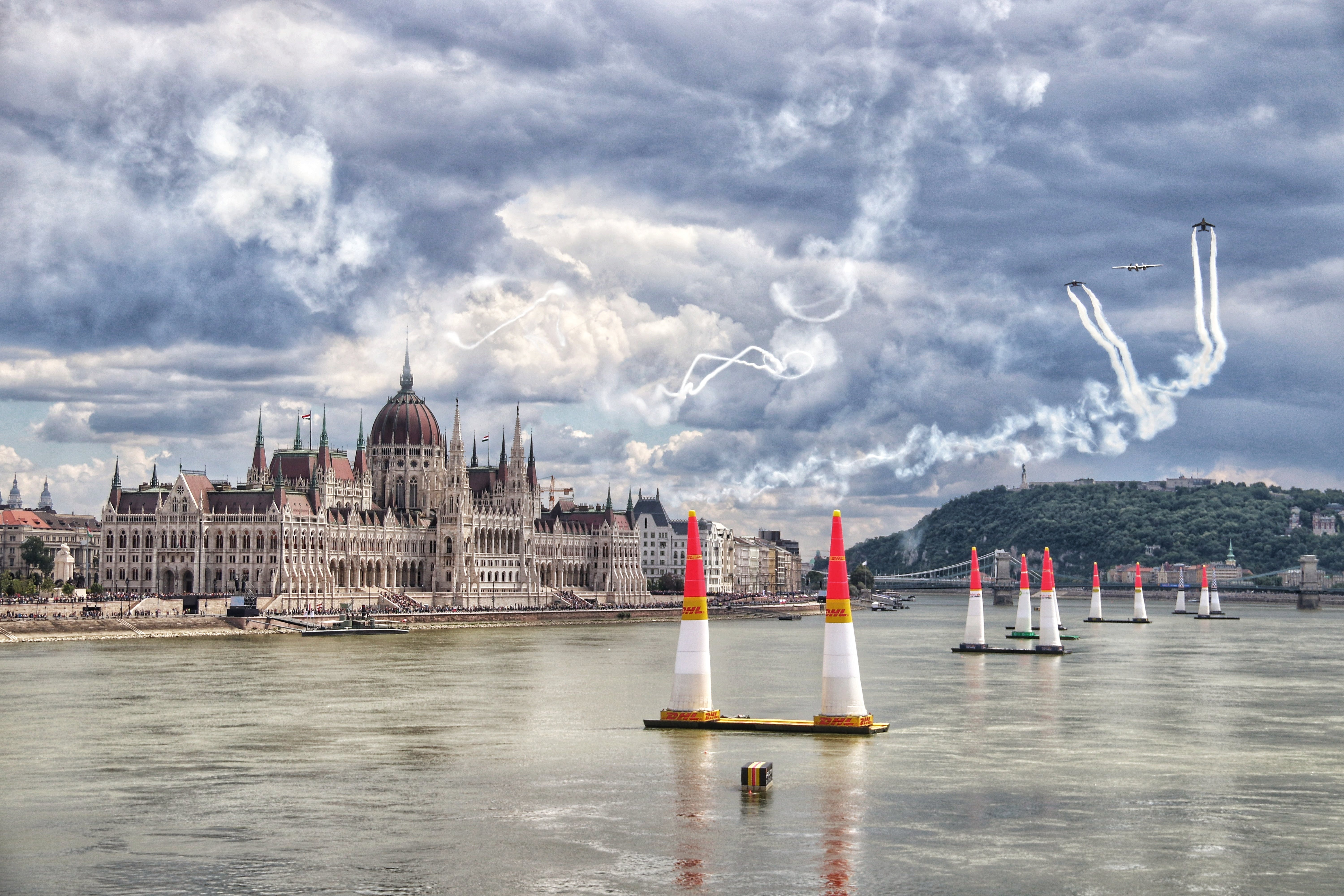 Free stock photo of #redbull #airrace