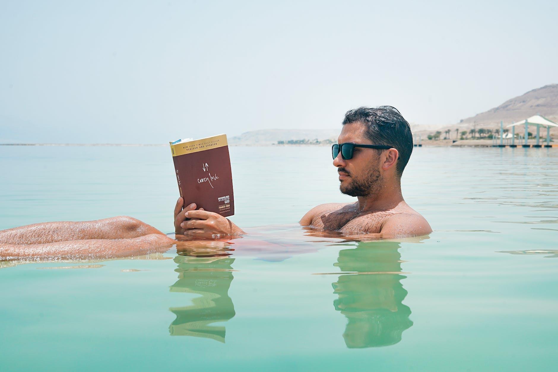ruta de viaje por jordania - mar muerto