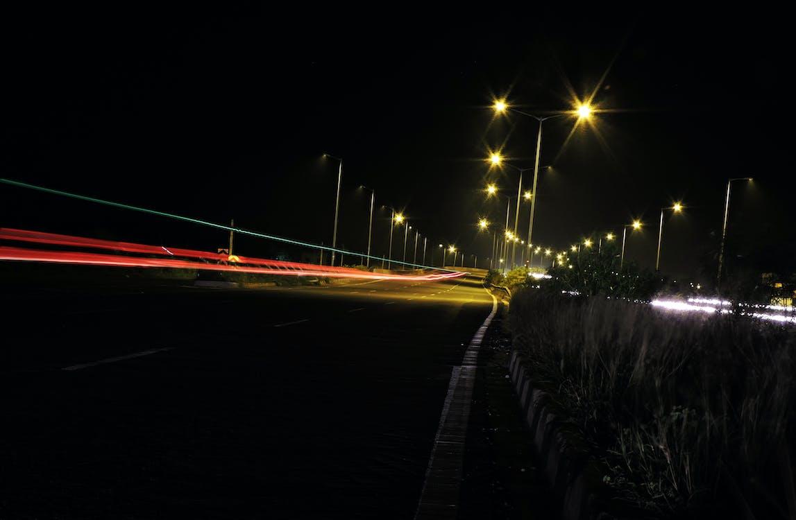 光, 夜, 夜の写真の無料の写真素材
