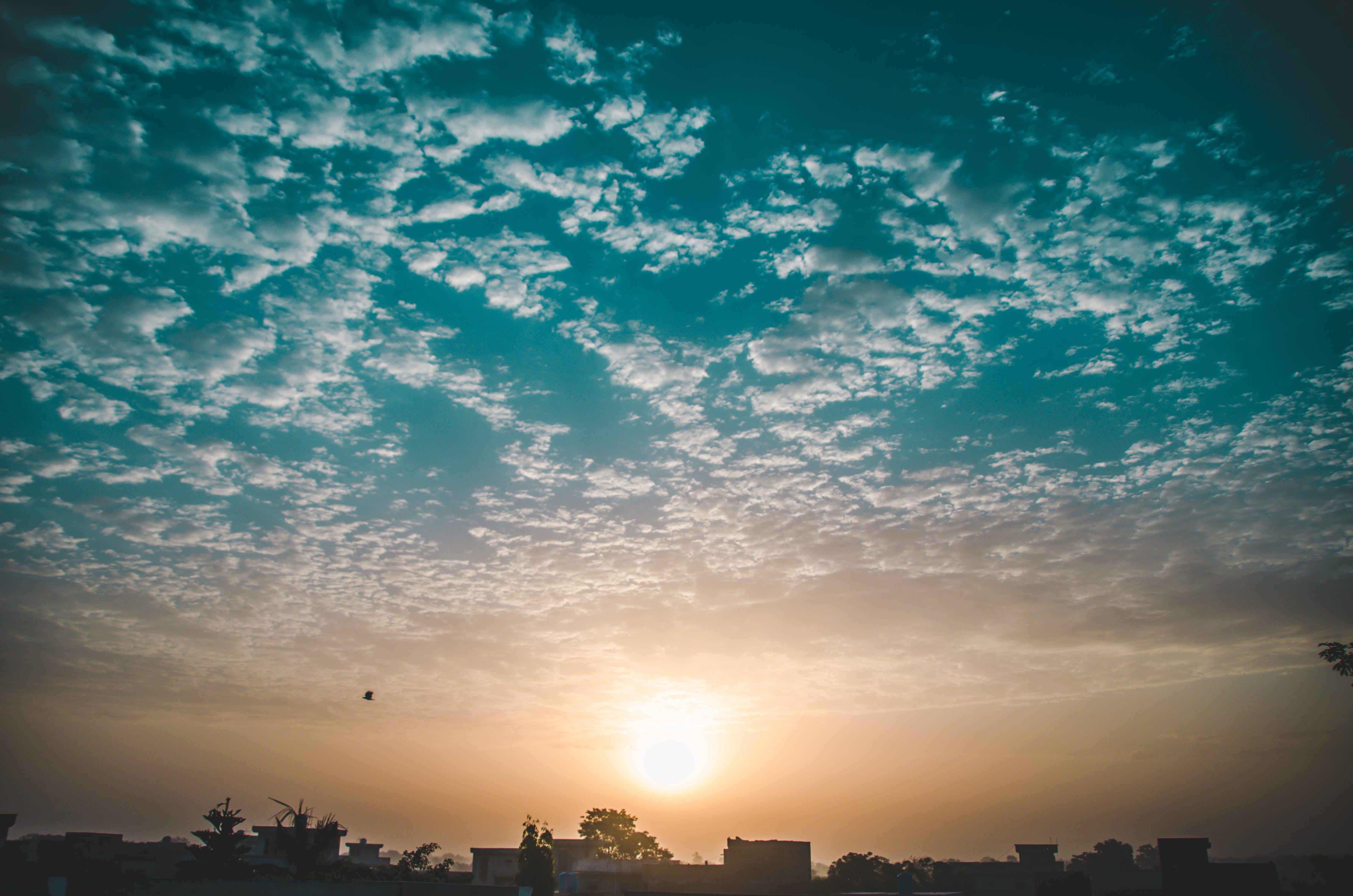 Kostenloses Stock Foto zu abend, abenteuer, blauer himmel, himmel