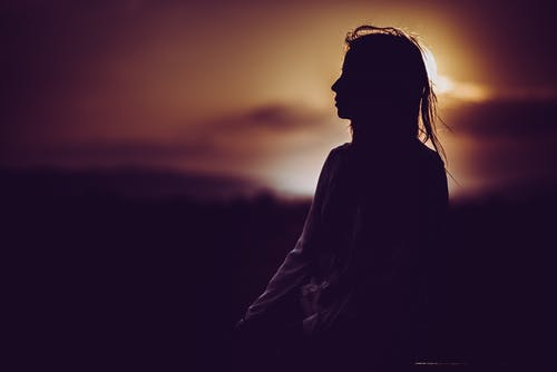 人, 側面圖, 太陽, 女人 的 免費圖庫相片