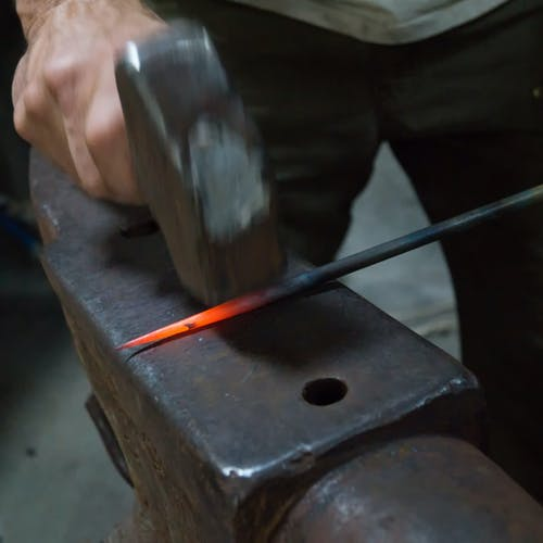 Free stock photo of anvil, art, blacksmith, blacksmithing