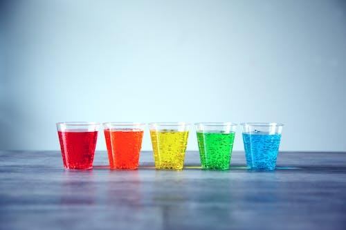 Foto profissional grátis de bebidas, borbulhante, brilhante, cheio de cor