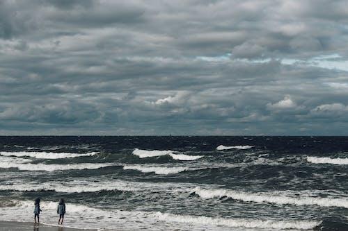 바다, 어린 시절, 황홀한 하늘의 무료 스톡 사진