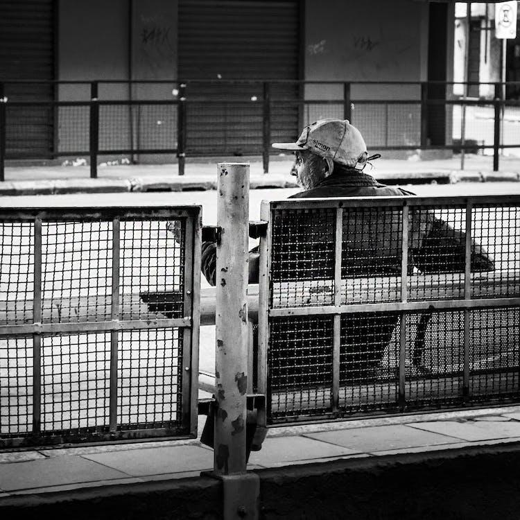 ban ngày, Băng ghế, hàng rào