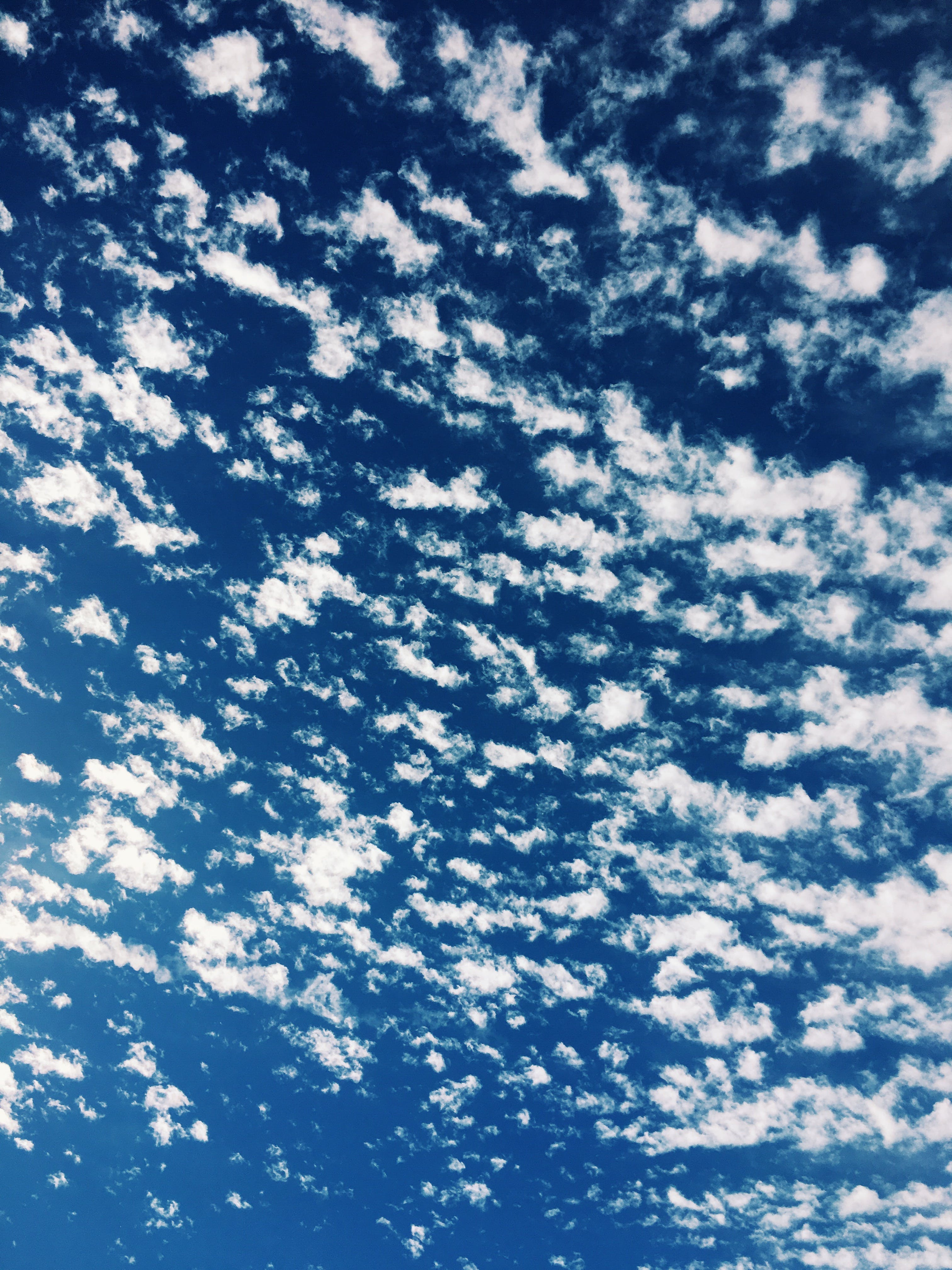 Free stock photo of art, clouds, cloudy, blue