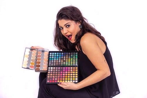Gratis lagerfoto af farvepalet, make up artist, makeup