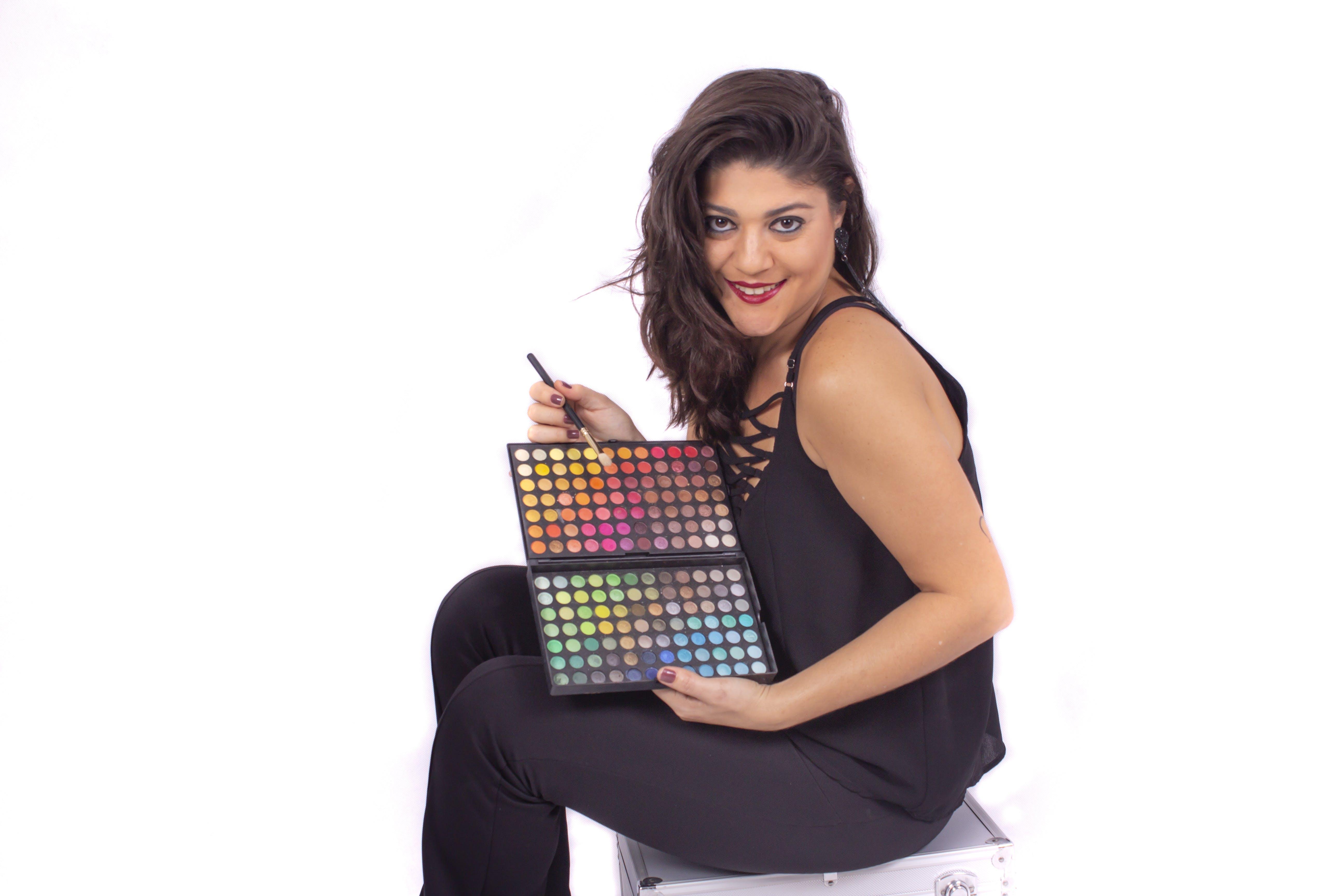 Free stock photo of makeup, make up, makeup artist, color palette