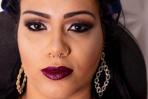 Gratis lagerfoto af kvinde, luk, makeup