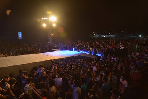 Free stock photo of concert venue, crowd, function, live on stage
