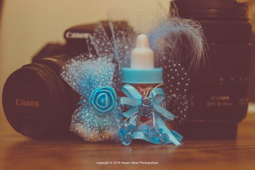 Free stock photo of birthday gift, canon, christmas gifts