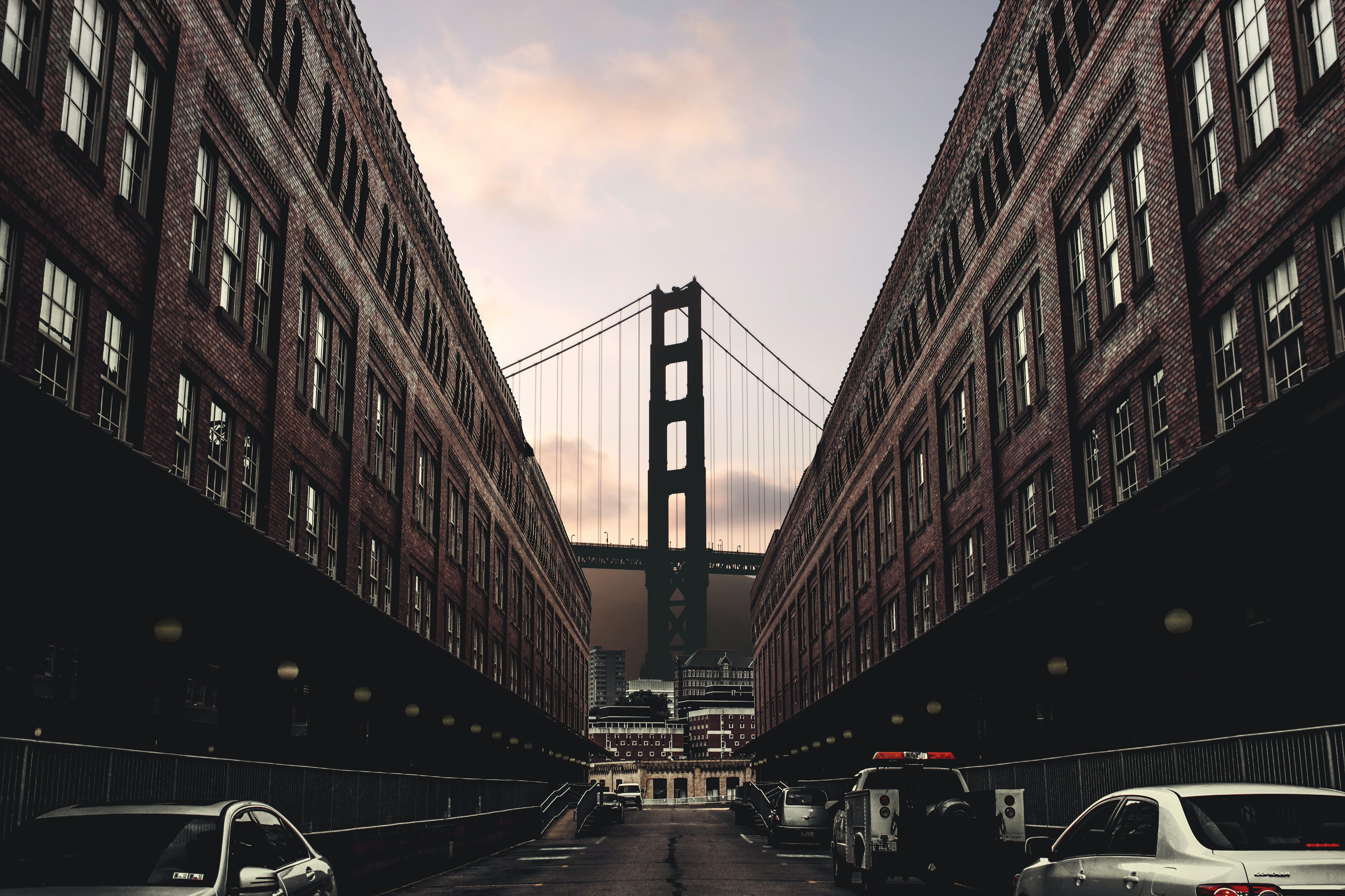 Free stock photo of architecture, bridge, building, business