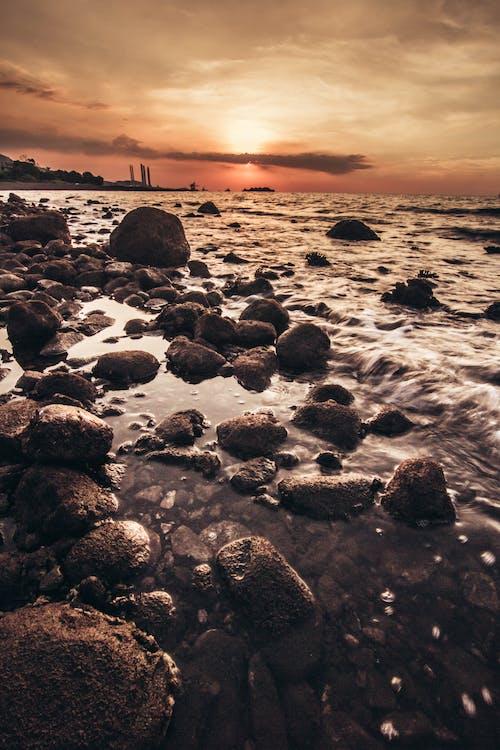 Základová fotografie zdarma na téma HD tapeta, pláž