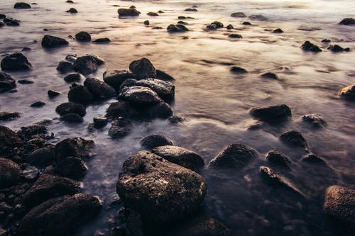 Free stock photo of beach, calm waters, free wallpaper, rock