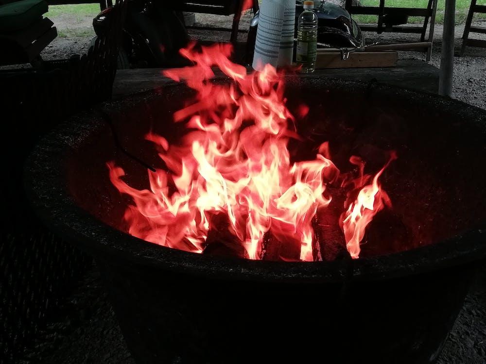 léto, oheň