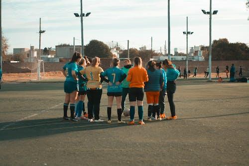 Free stock photo of soccer ball, soccer field, soccer player