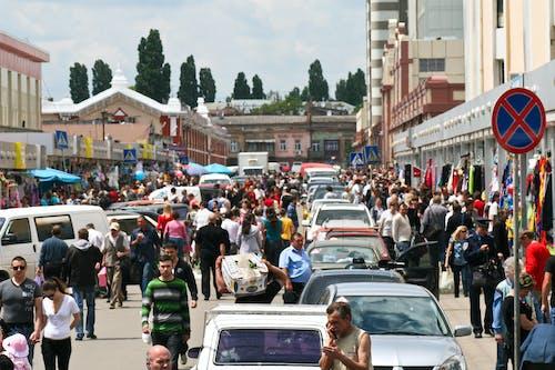 人, 擁擠, 敖德薩, 日常生活 的 免費圖庫相片