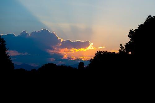 Gratis arkivbilde med appelsin, soloppgang, tidlig morgen, ukraina