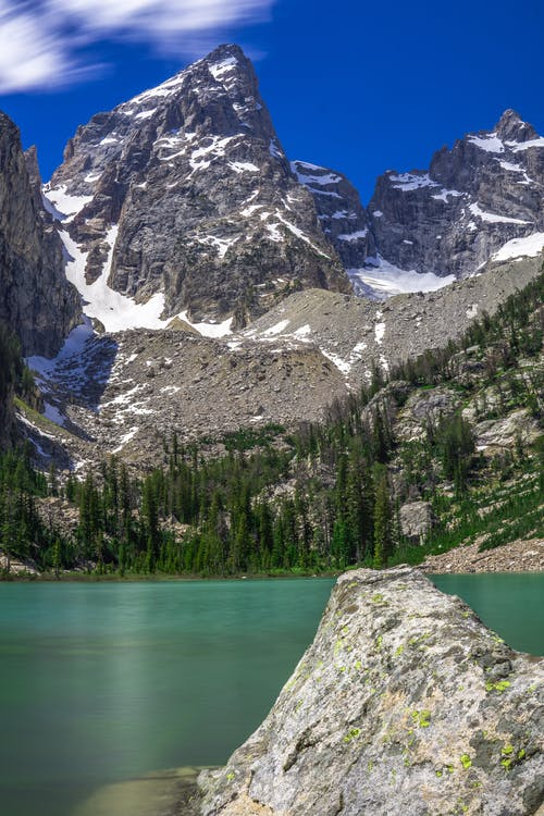 山, 山峰, 山脈 的 免费素材图片