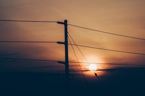 Fotos de stock gratuitas de África, amanecer, cables, Kenia
