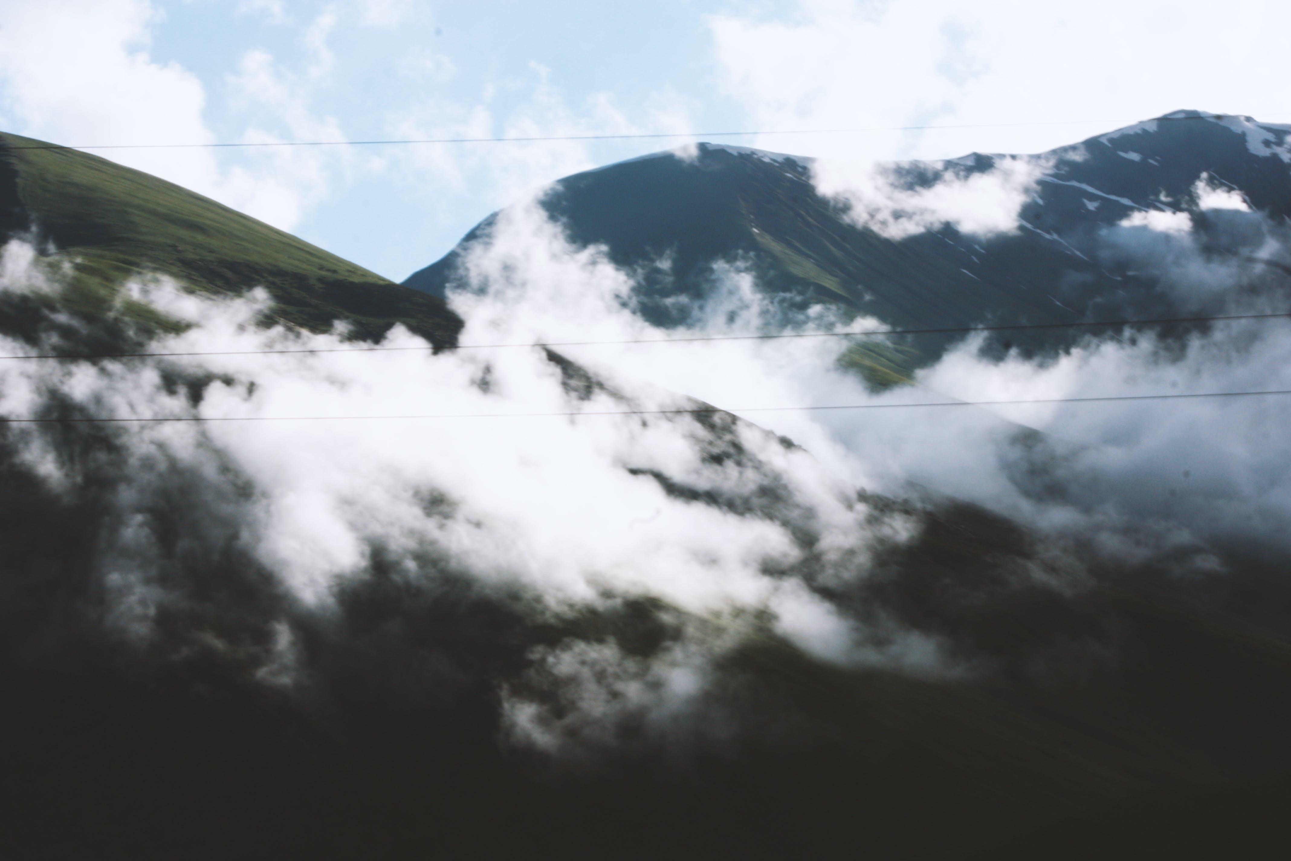 Photos gratuites de brumeux, ciel, haut, jour