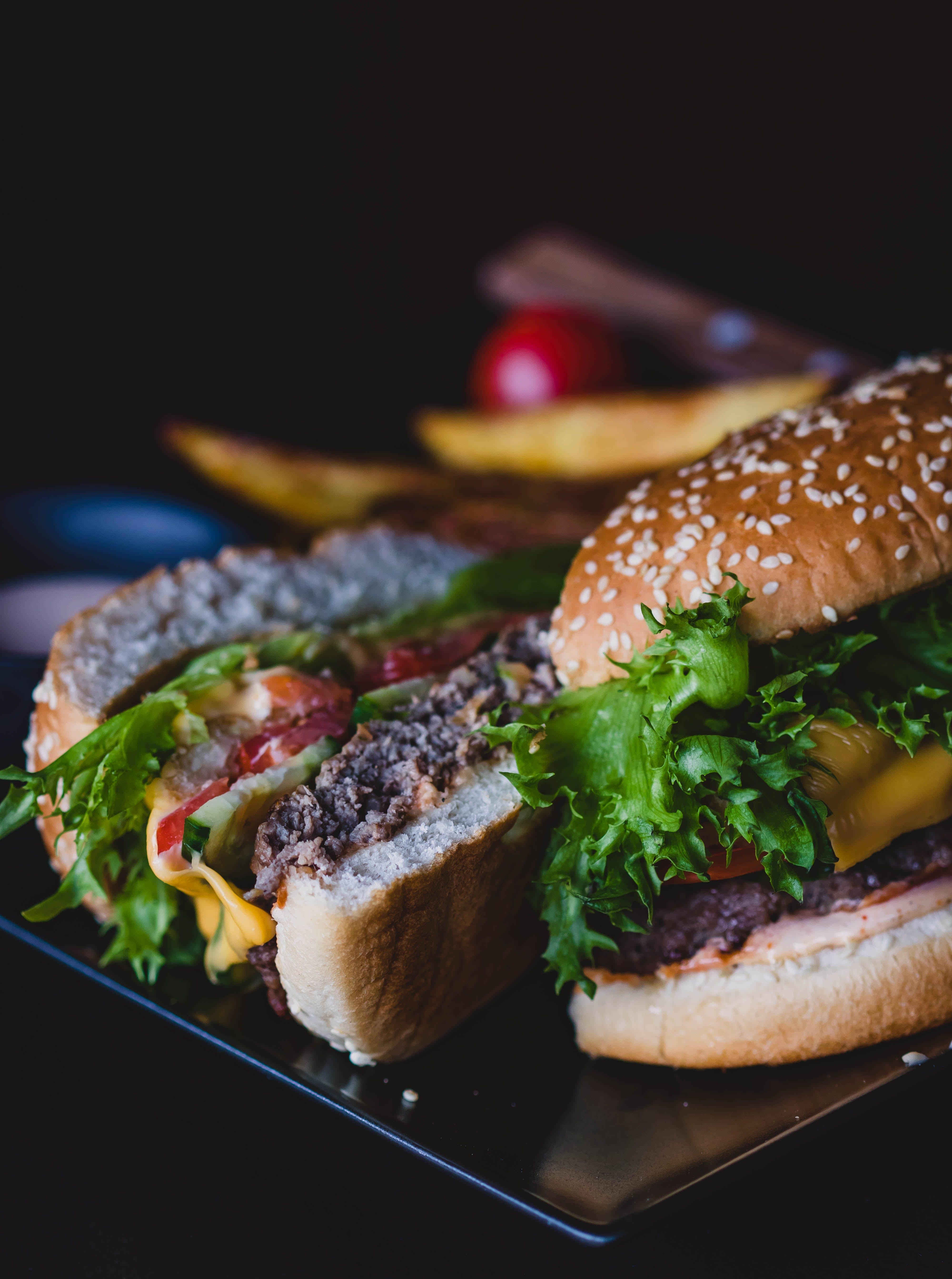 Sliced Cheeseburger