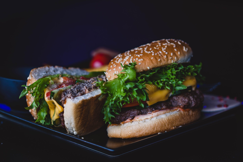 Ingyenes stockfotó burger, ebéd, élelmiszer, étkezés témában