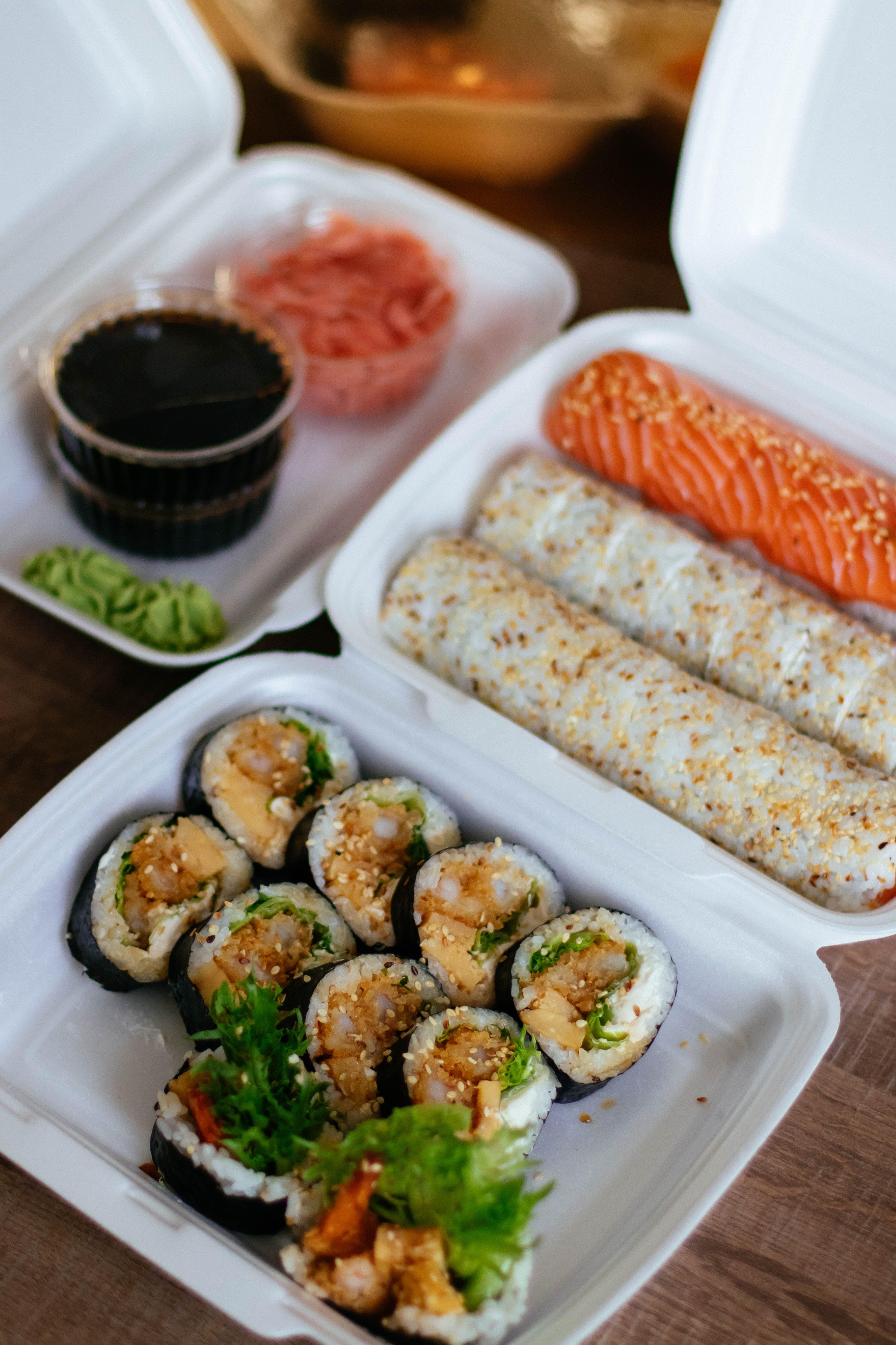 ağız sulandırıcı, akşam yemeği, dengeli beslenmek, Deniz ürünleri içeren Ücretsiz stok fotoğraf