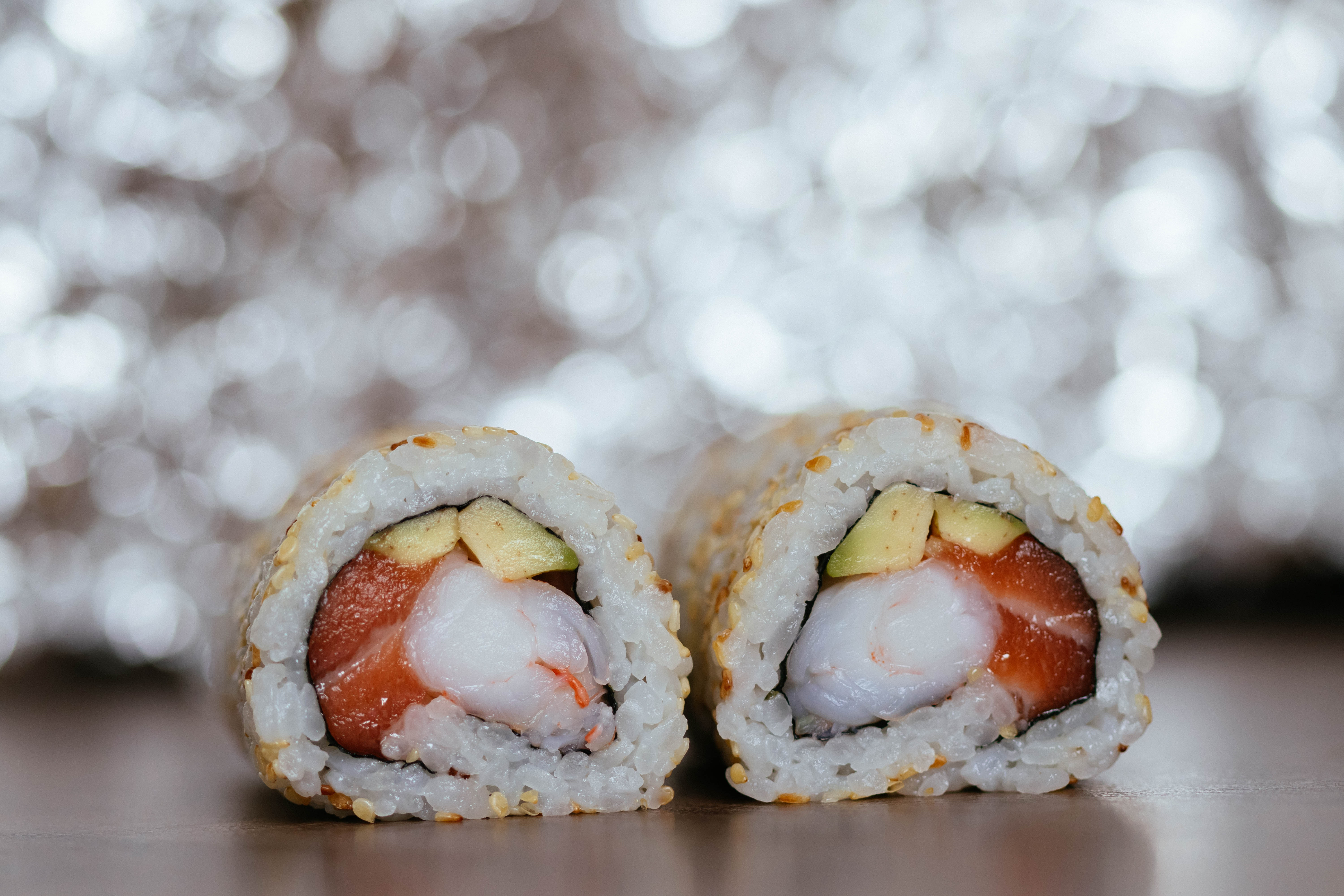 Focus photography of cooked sushi on brown wooden surface free free download forumfinder Images