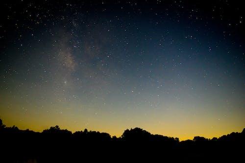 Free stock photo of 4k wallpaper, astrophotography, dark, horizon