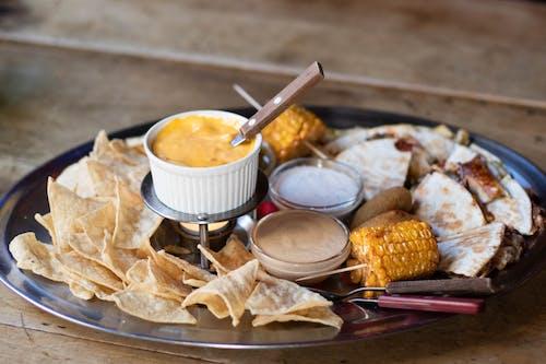 Gratis stockfoto met bord, dippen, eten, heerlijk