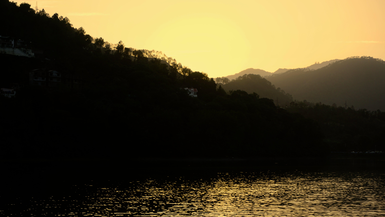 Free stock photo of black, dusk, glow, golden