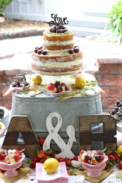 cake, decor, eten