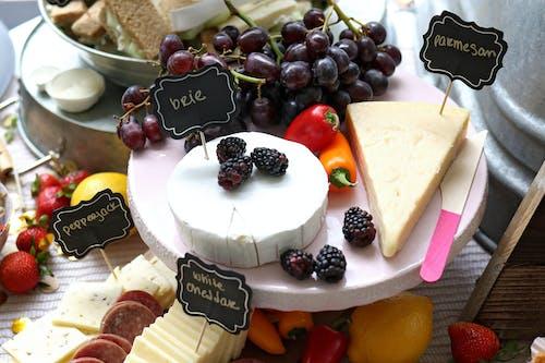 Foto d'estoc gratuïta de deliciós, formatge, fruita, làctic