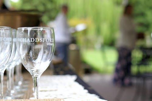 Foto d'estoc gratuïta de copes de vi, macro