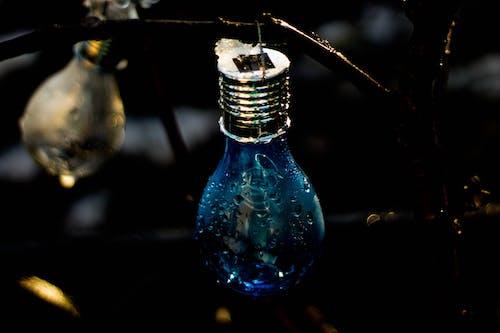 Immagine gratuita di articoli di vetro, azzurro, bagnato, bicchiere