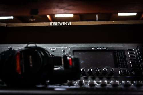 Free stock photo of headphones, sound, sound engineering, sound mixer