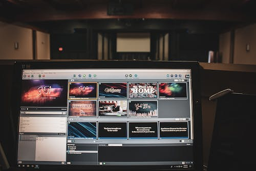 Free stock photo of church, experience, powerpoint, production