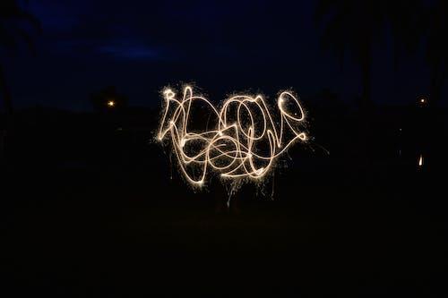 Δωρεάν στοκ φωτογραφιών με αστερίες, σε αγαπώ, φλόριντα, φωτισμός