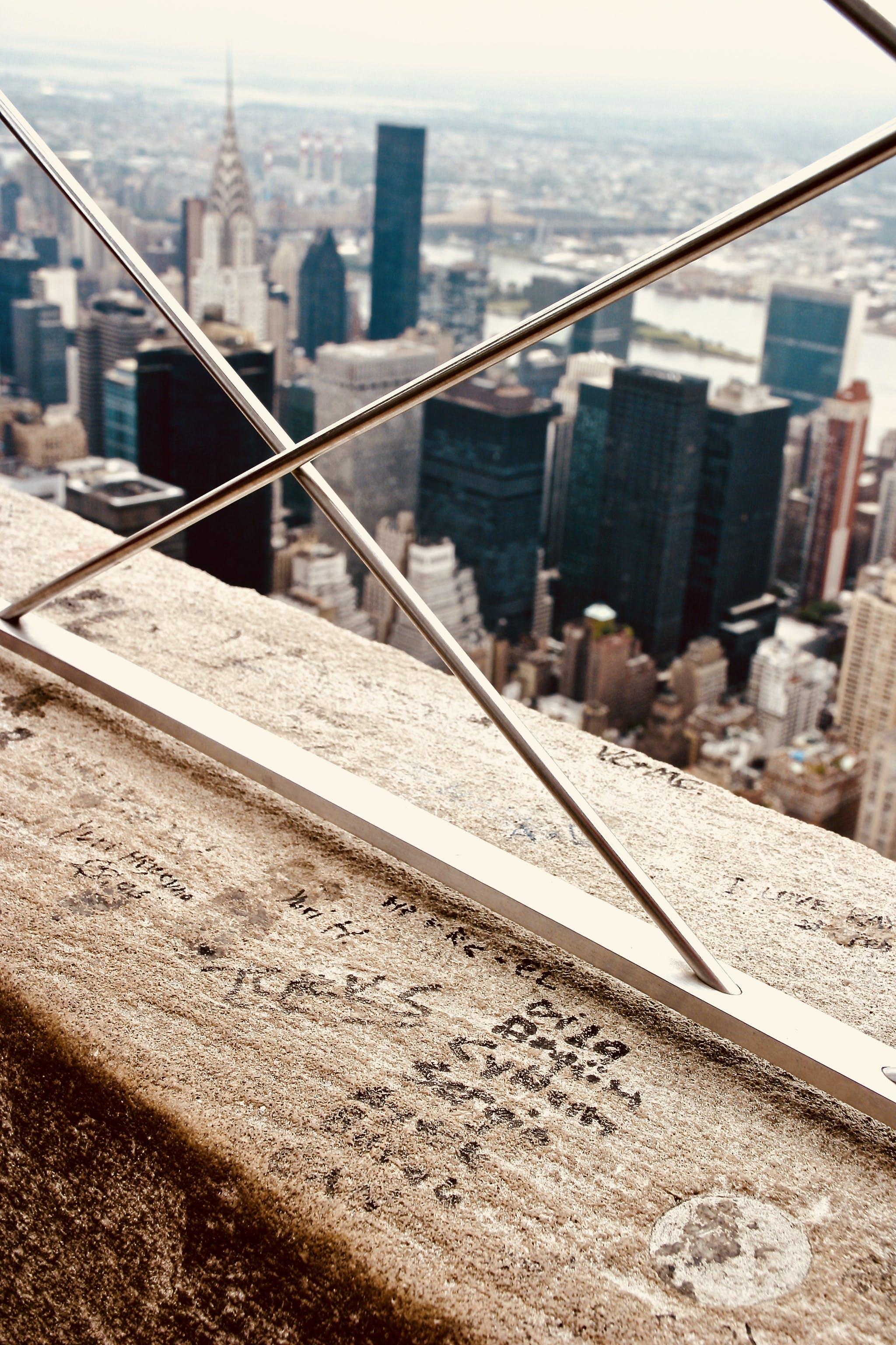 Δωρεάν στοκ φωτογραφιών με Empire State Building, κάτοψη, Νέα Υόρκη, ουρανοξύστες