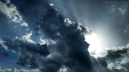 一縷陽光, 傍晚的太陽, 大自然, 自然攝影 的 免費圖庫相片