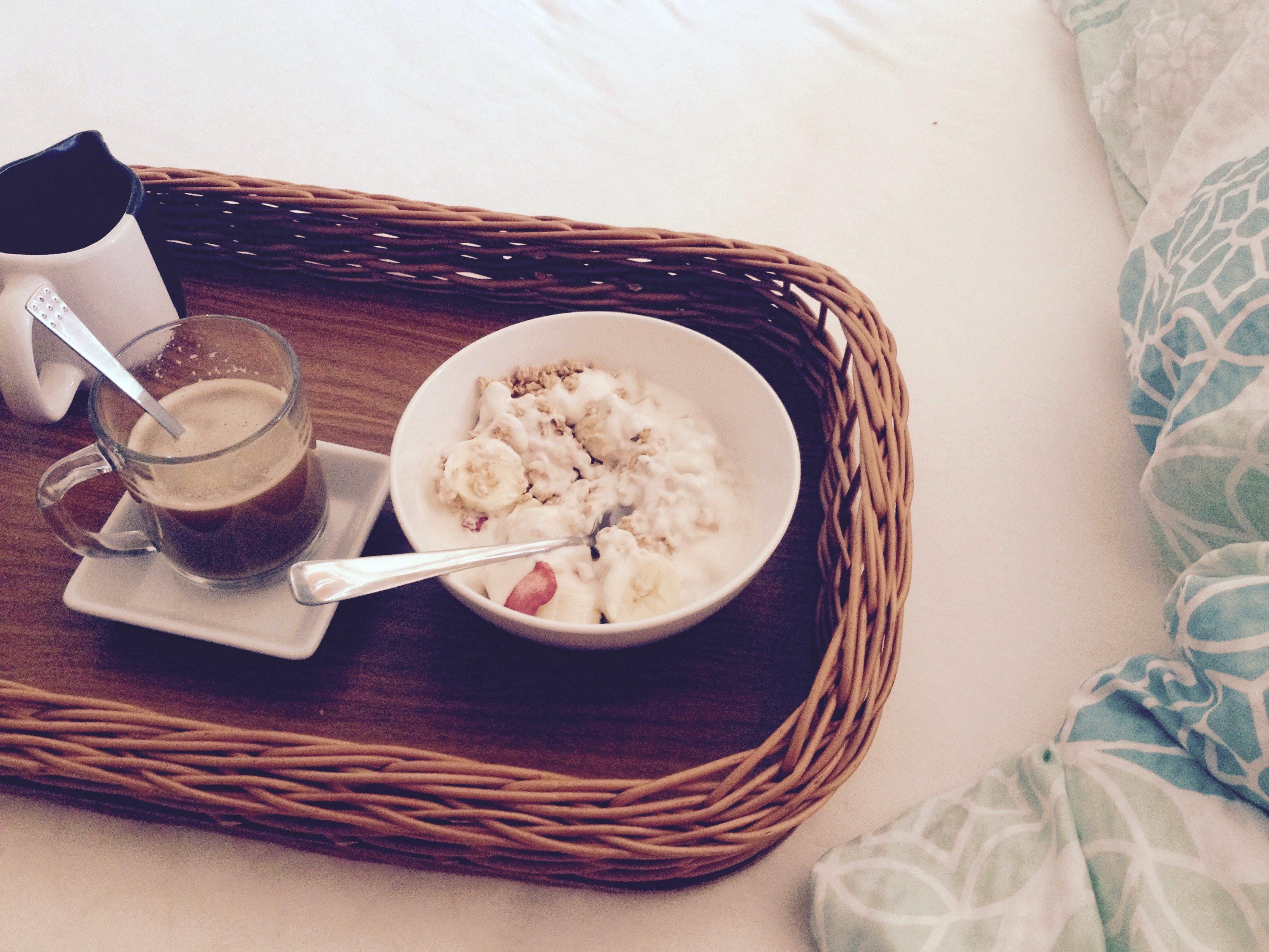 Gratis lagerfoto af drink, kaffe, krus, mad