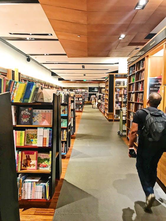 libreria, libri, negozio